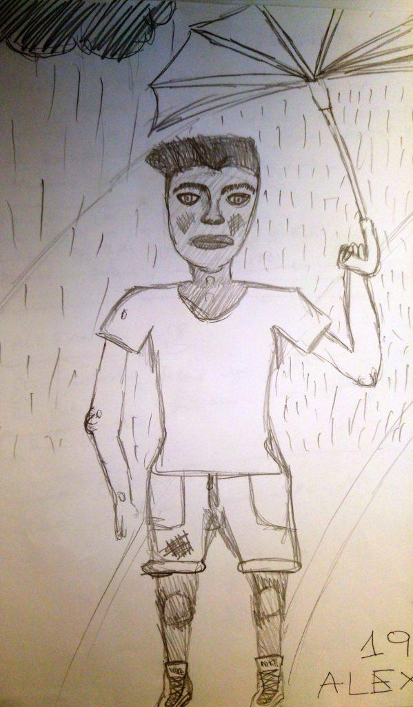 disegno adolescente
